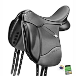Bates Isabell Dressage Saddle with Luxe Leather