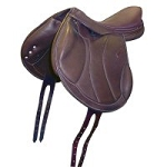 Intrepid Pro-Trainer Advance Ride Interchangeable Gullet System Mono Flap Saddle