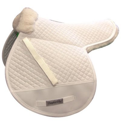 Shearling Backed Contour Comfort Saddle Pad