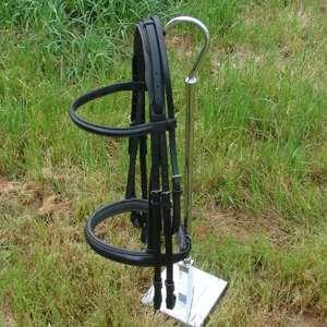 ThinLine Double Bridle with Crank, Flash Noseband and Reins
