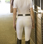 FITS PerforMAX White Full Seat Breech with Wunderbreech