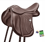 Bates Wide All Purpose+ Saddle with CAIR Cushion System