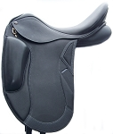 ThornHill/Intrepid International Pro-Trainer 24K CCD Monoflap Dressage Saddle