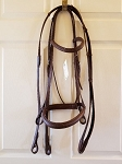 Pro-Trainer Raised Snaffle Bridle with Reins - Warm Blood