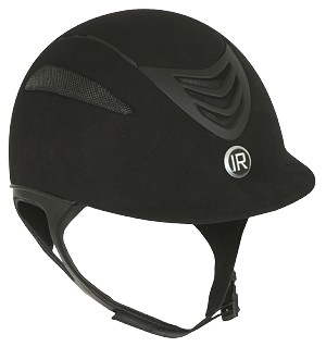 International Riding Helmet IR4G Helmet - Suede Finish