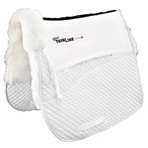 ThinLine ULTRA Full Sheepskin Square Cotton Dressage Pad