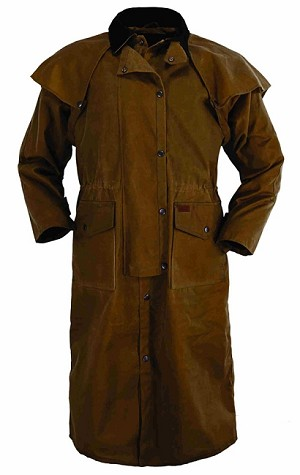 Outback Trading Company Stockman Duster and Oilskin Hat Combo Special